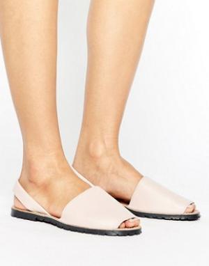 Park Lane Кожаные сандалии. Цвет: розовый