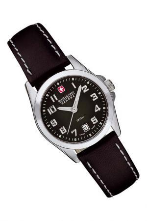 Watch Swiss military. Цвет: black