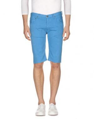 Джинсовые шорты TRUE NYC.. Цвет: пастельно-синий