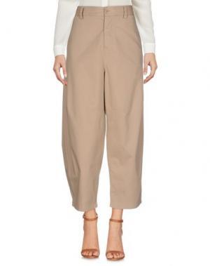Повседневные брюки VIRNA DRÒ®. Цвет: песочный