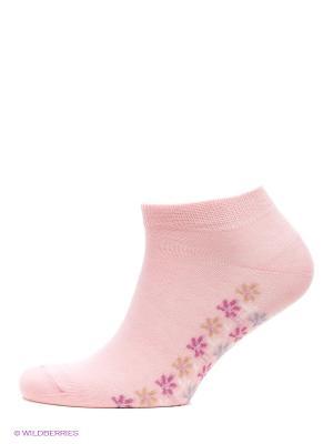 Носки, 3 пары БРЕСТСКИЕ. Цвет: розовый