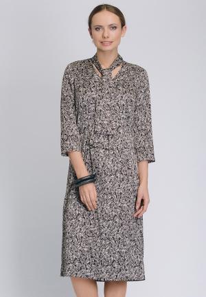Платье Cavo. Цвет: серый
