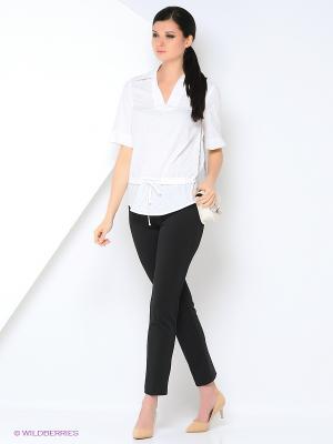 Блуза L-design. Цвет: белый