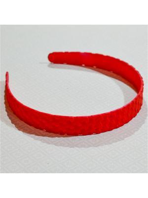 Ободок Bizon. Цвет: красный