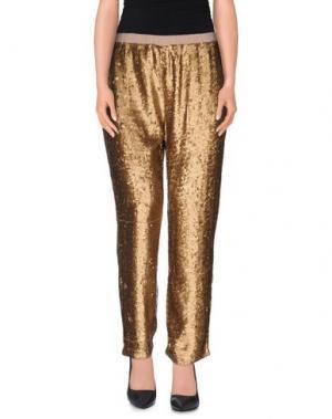 Повседневные брюки NC.2 Paris. Цвет: платиновый