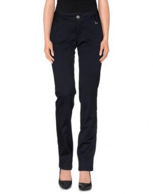 Повседневные брюки AKÈ. Цвет: темно-синий