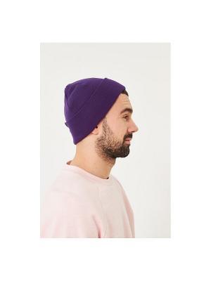 Шапка Check Ya Head. Цвет: фиолетовый