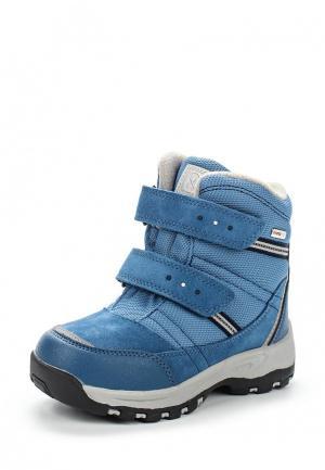 Ботинки Reima. Цвет: голубой