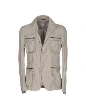 Пиджак DANIELE ALESSANDRINI. Цвет: светло-серый