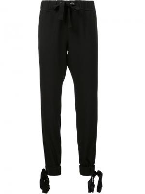 Спортивные брюки Azalea Zac Posen. Цвет: чёрный