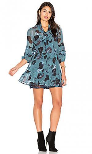 Платье desire SAM&LAVI. Цвет: синий