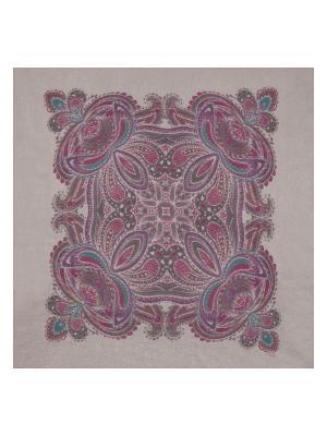Платок Eleganzza. Цвет: серо-голубой, лиловый, серый