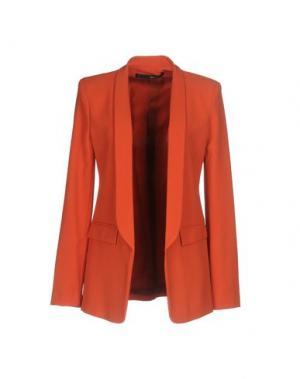 Пиджак ANNARITA N.. Цвет: ржаво-коричневый