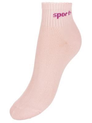 Носки BAYKAR. Цвет: персиковый