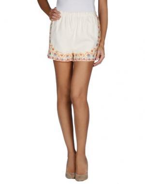 Повседневные шорты DRESS GALLERY. Цвет: слоновая кость