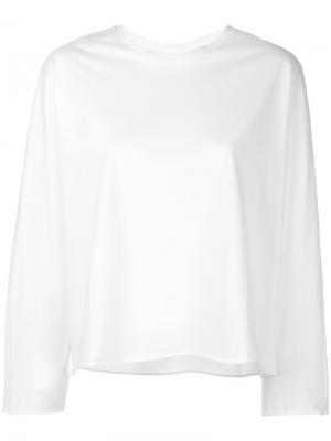 Расклешенная блузка Astraet. Цвет: белый