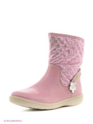Полусапожки San Marko. Цвет: розовый