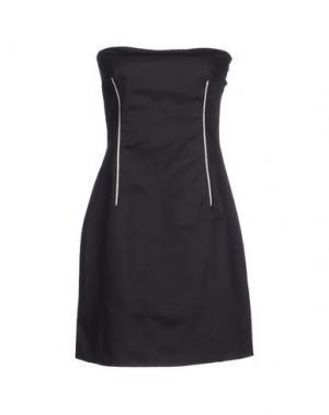 Короткое платье SWAP INSIDE. Цвет: черный