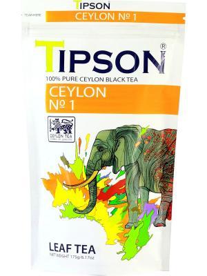 Чай Tipson Ceylon №1. Цвет: белый