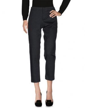 Повседневные брюки BIANCOGHIACCIO. Цвет: стальной серый