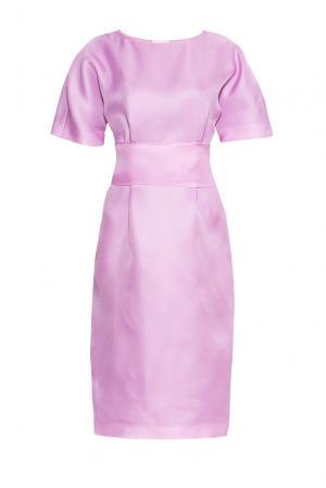 Платье из шелка с поясом PG-180640 Studia Pepen. Цвет: фиолетовый