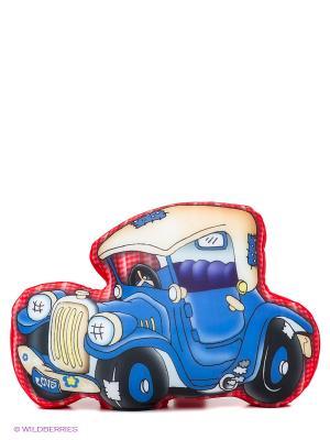 Машинка Молния 40 см MAXITOYS. Цвет: красный, синий