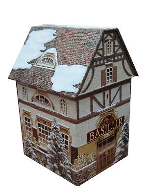 Чай Basilur Чайный домик Tea House. Цвет: коричневый, темно-зеленый