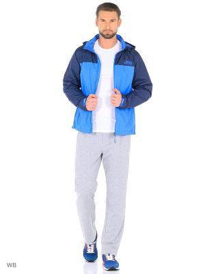 Куртка ANTA. Цвет: голубой, синий