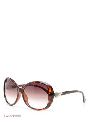 Солнцезащитные очки Selena. Цвет: темно-коричневый, оранжевый