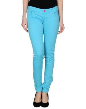 Джинсовые брюки CIPO & BAXX. Цвет: бирюзовый