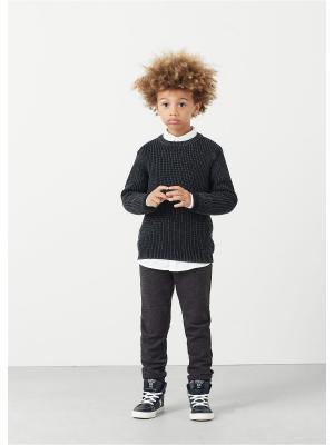 Джемпер - NISPER Mango kids. Цвет: черный