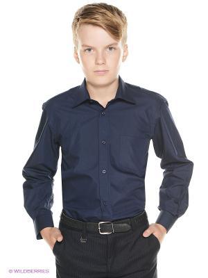 Рубашка Cascatto. Цвет: темно-синий