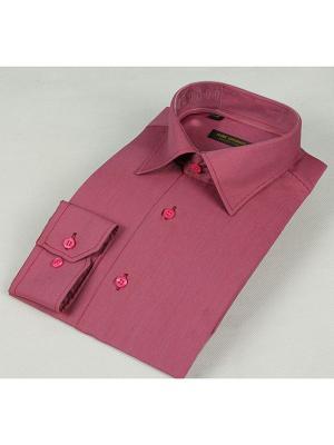 Рубашка Hans Grubber. Цвет: красный