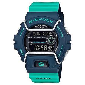 Кварцевые часы Casio G-shock 67584 Gls-6900-2a. Цвет: синий,голубой