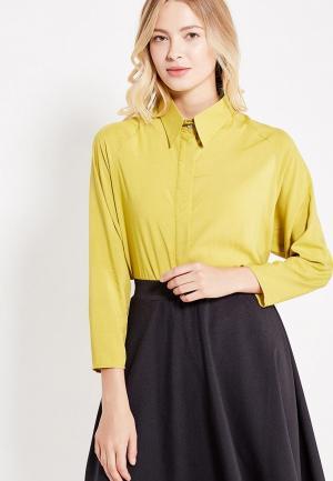 Рубашка Love & Light. Цвет: желтый