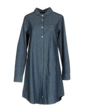 Короткое платье VINTAGE 55. Цвет: синий