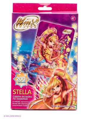 Winx Мозаика -сингл Stella Чудо-творчество. Цвет: розовый, золотистый, фиолетовый