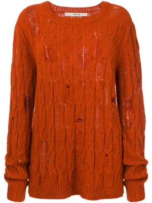 Джемпер Kine Damir Doma. Цвет: жёлтый и оранжевый