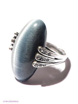 Кольцо Jenavi. Цвет: серебристый, синий