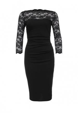 Платье City Goddess. Цвет: черный
