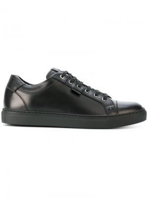 Кроссовки на шнуровке Brioni. Цвет: чёрный