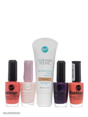 Bell Товар Спайка флюид derma lift anti-wrinkle, cс cream smart make-up, корректор bb. Цвет: светло-бежевый