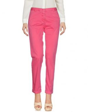 Повседневные брюки MONOCROM. Цвет: фуксия