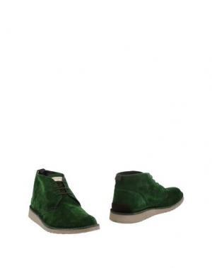 Полусапоги и высокие ботинки ANGELO NARDELLI. Цвет: зеленый