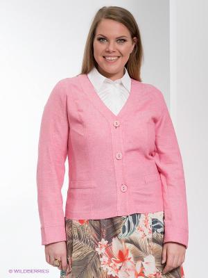 Жакет D`imma. Цвет: бледно-розовый