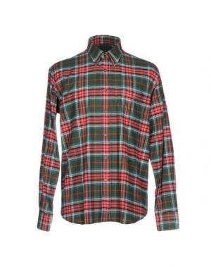Pубашка INGRAM. Цвет: изумрудно-зеленый