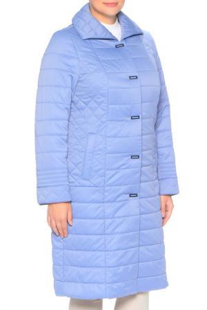 Пальто MONTSERRAT. Цвет: светло-синий