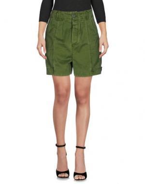 Повседневные шорты MARC BY JACOBS. Цвет: зеленый
