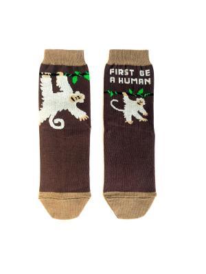 Носки Big Bang Socks. Цвет: коричневый
