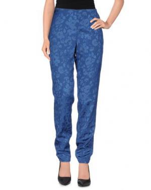 Повседневные брюки THEYSKENS' THEORY. Цвет: темно-синий